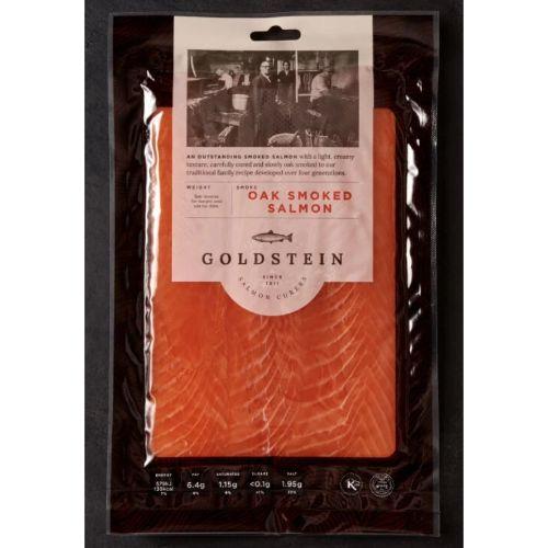Goldstein Smoked Salmon, Lean Cut, 100g