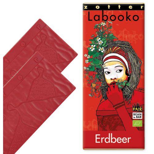 Zotter Labooko Strawberry 70g