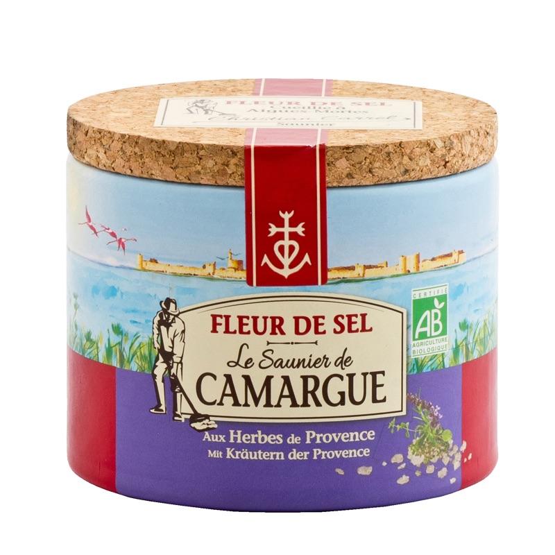 Le Saunier Camargue fleur de sel Herbes de Provance 125g