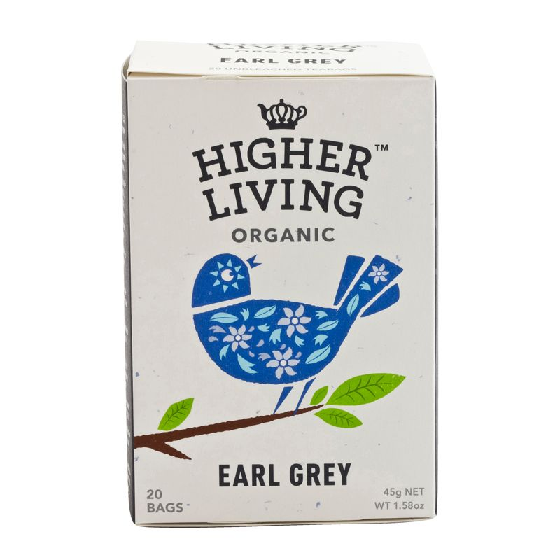 Higher Living Organic Earl Grey Tea 45g