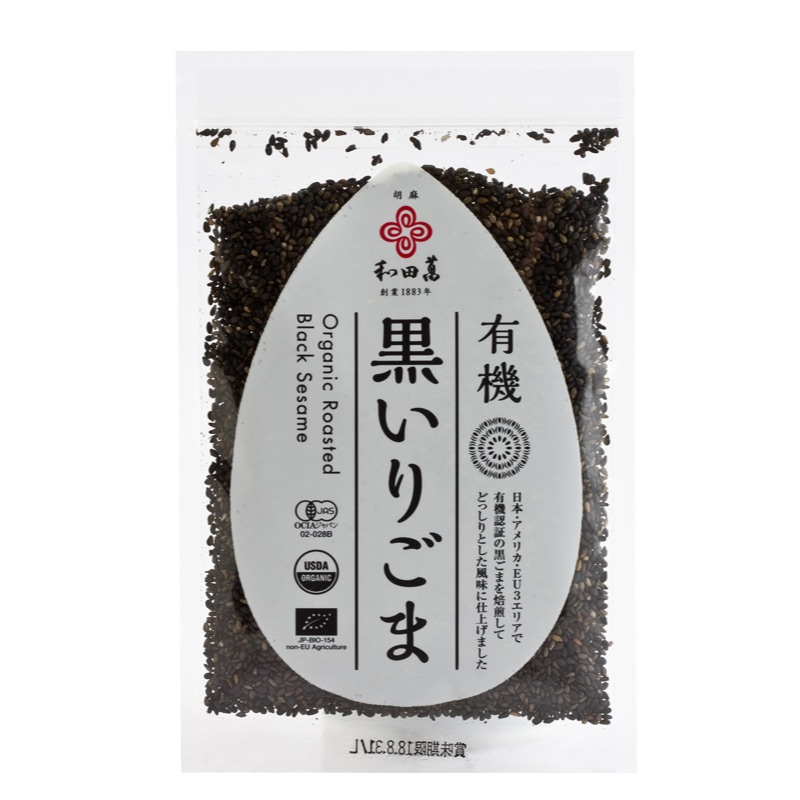 Black roasted sesame seeds 50g