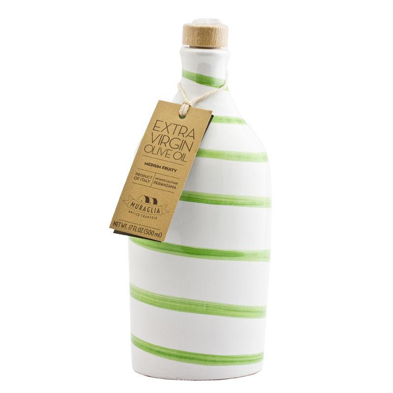 Muraglia Extra Virgin Olive Oil Intense Fruity green striped 500ml