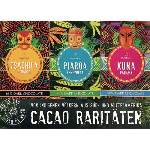 Coppeneur Rare Cacao Bars Set 150g