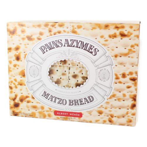 Albert Menes Matzo Crackers 200g
