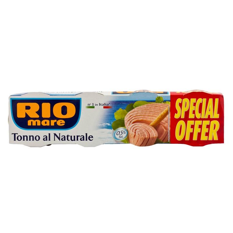 Rio Mare tuna in brine 4x80g