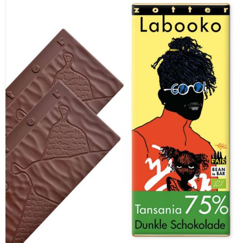 Zotter Labooko Tanzania 75% 70g