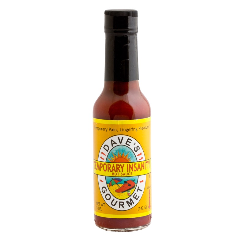Dave's Ultimate Temporary Insanity hot sauce 142g