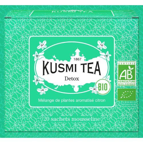 Kusmi Detox 20 Maté Green Tea Bags Box 44g
