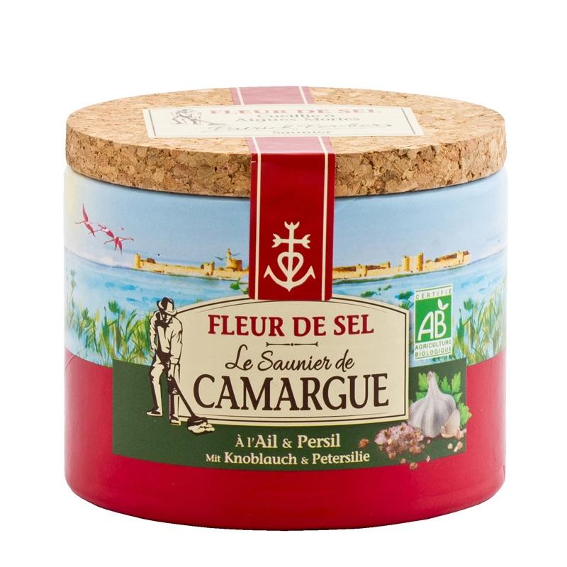 Le Saunier Camargue fleur de sel Ail & Persil 125g