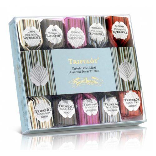 Tartuflanghe Trifulot Assorted Sweet Truffles 5x2 pcs 70g