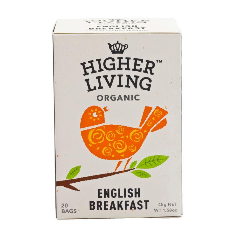 Higher Living Organic English Tea 45g
