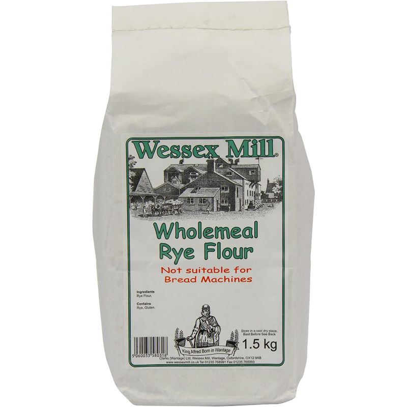 WessexM Whole grain Rye flour 1.5kg