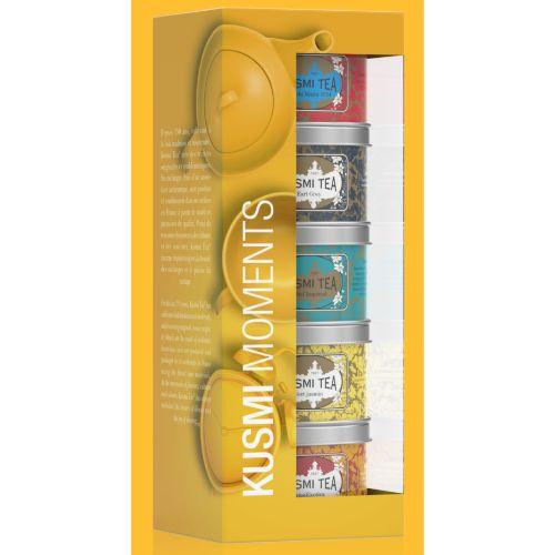 Kusmi Moments Loose Teas Gift Set 5x25g