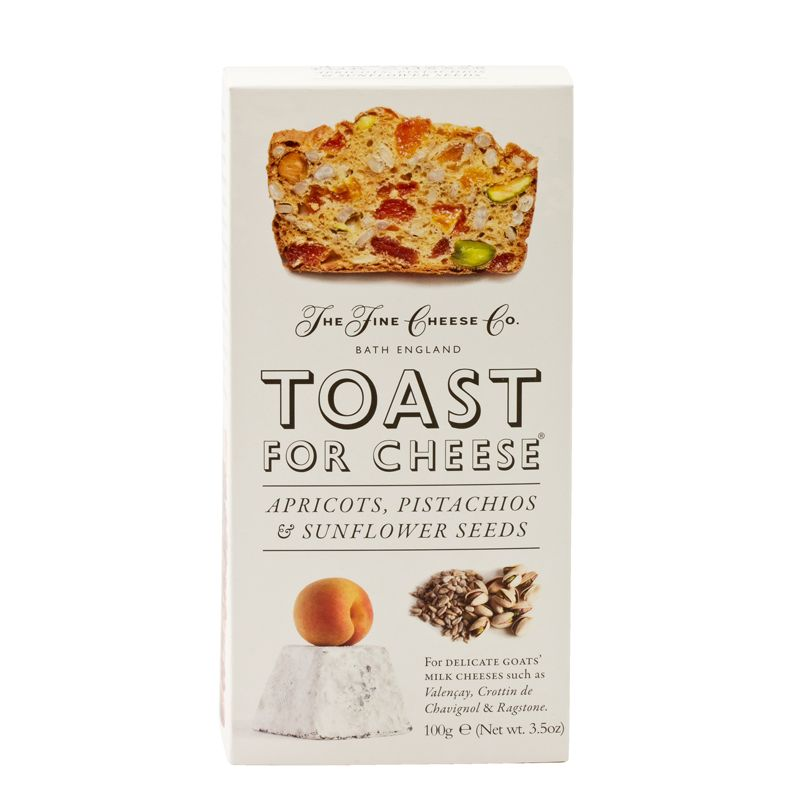 Fine Cheese Toast Apricots, Pistachios & Sunflower seeds 100g