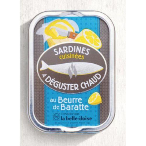 Belle Iloise Sardines Beurre Baratte 115g