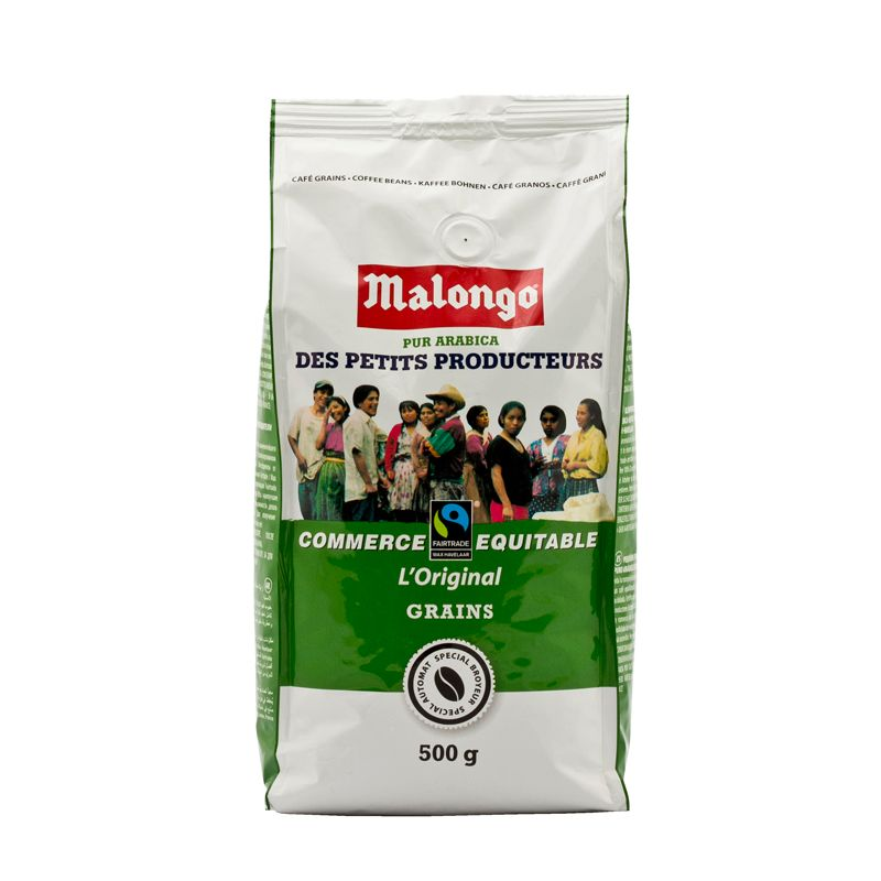 Malongo Café CE Grains Pur Arabica 500g