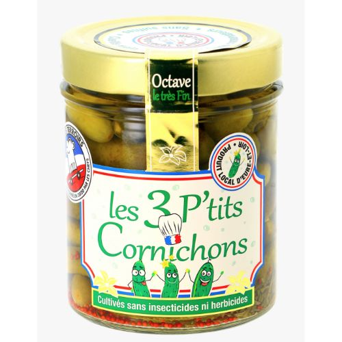Les 3 PC Cornichons Extra Small Octave 430g