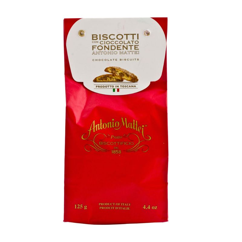 Mattei cantuccini chocolate biscuits 125g