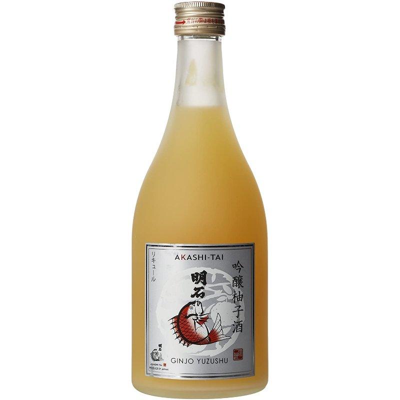 Akashi-Tai Ginjo Yuzushu Citrus Sake 500ml