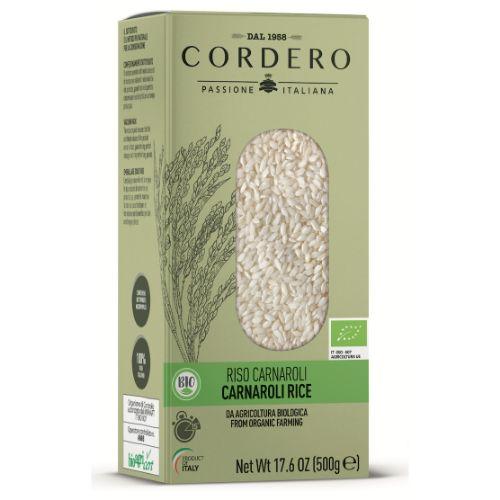 Cordero Carnaroli Rice Organic 500g