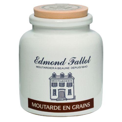 Edmond Fallot Wholegrain Dijon Mustard Stoneware Pot 105g