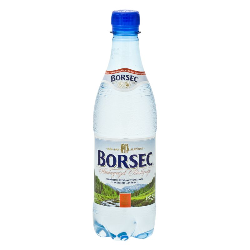 Borsec mineral water, sparkling 0,5l