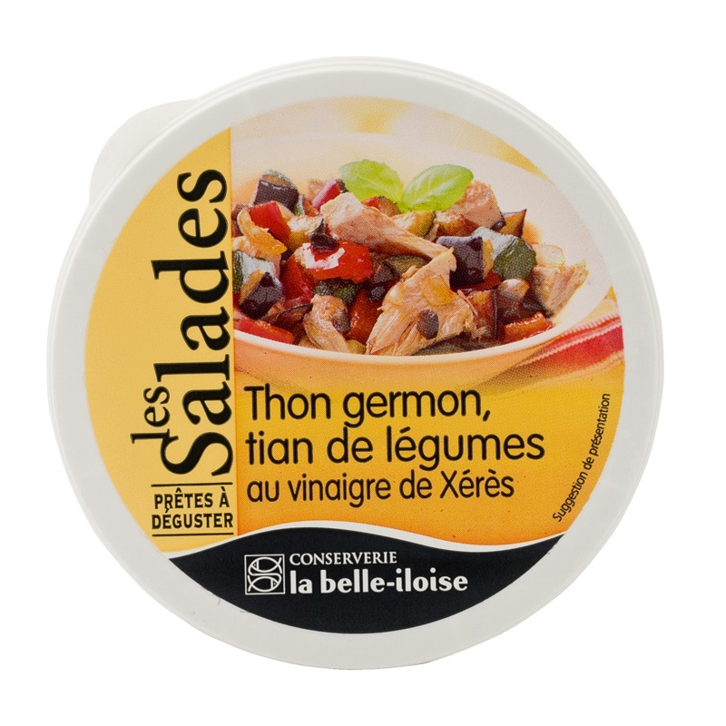 Belle Iloise Salad Tuna Vegetables 165g