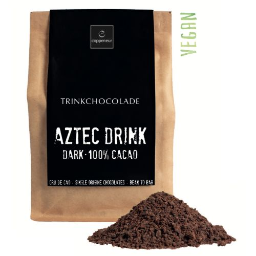 Coppeneur Aztec Drinking Chocolate 100% Dark 200g