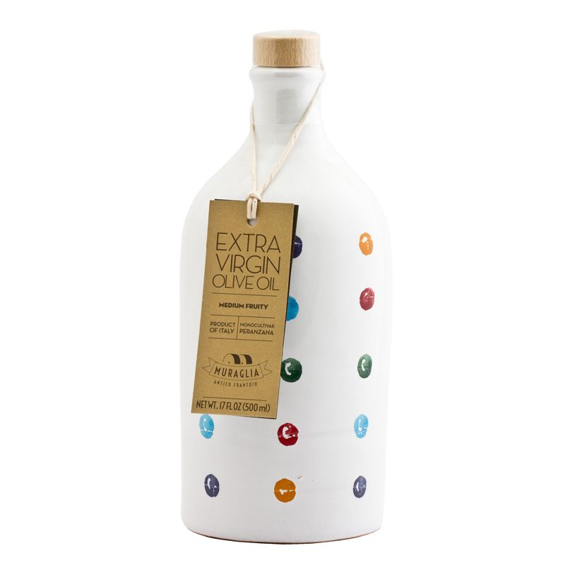 Muraglia Extra Virgin Olive Oil Medium Fruity polka dots 500ml