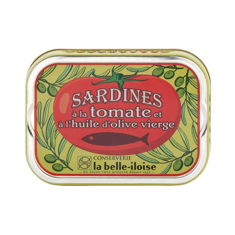 Belle Iloise Sardines with Tomato and Olive oil 115g
