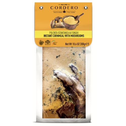 Cordero Instant Polenta with Porcini mushrooms 300g
