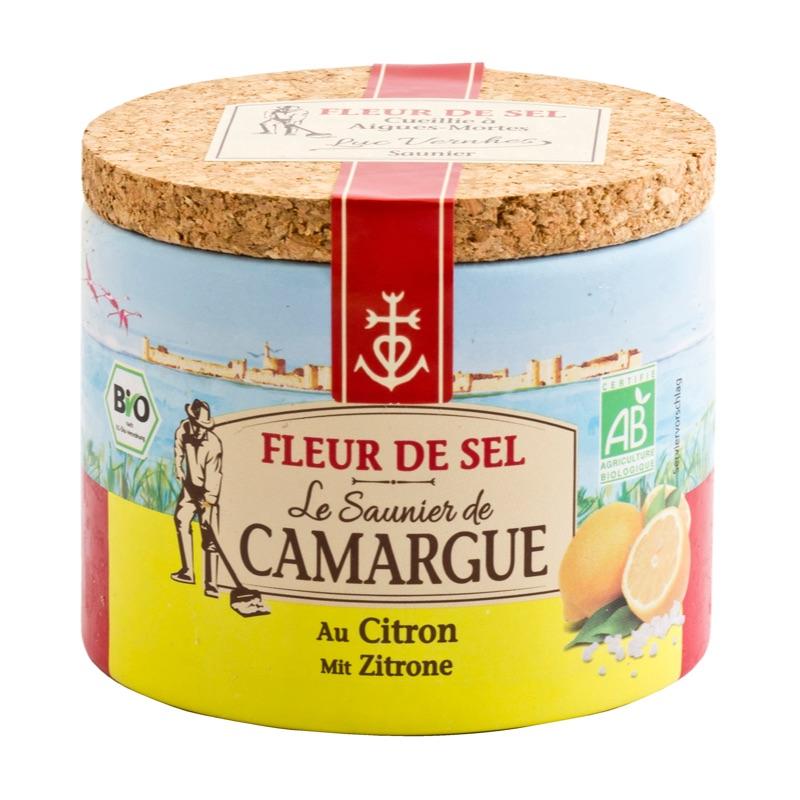 Le Saunier Camargue fleur de sel Citron 125g