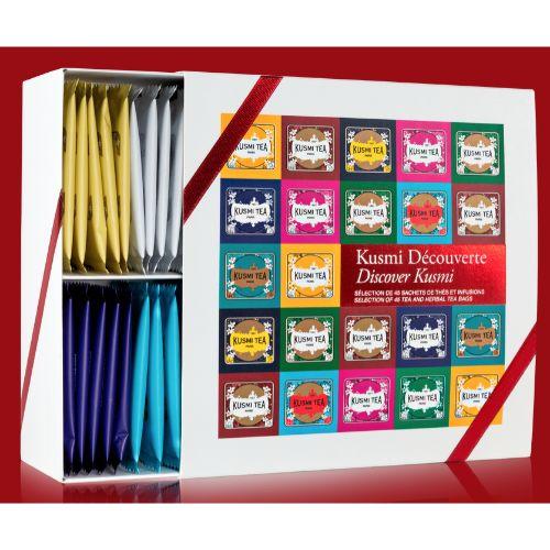 Kusmi Discovery Gift Box 45 Assort. Tea Bags 96g