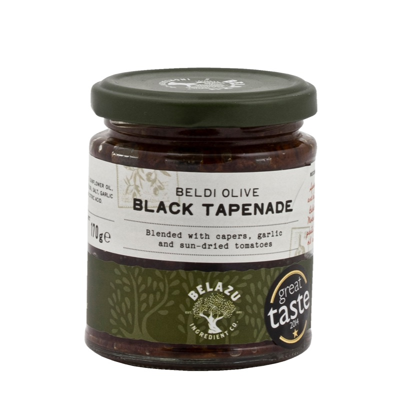 Belazu Black tapenade paste 170g