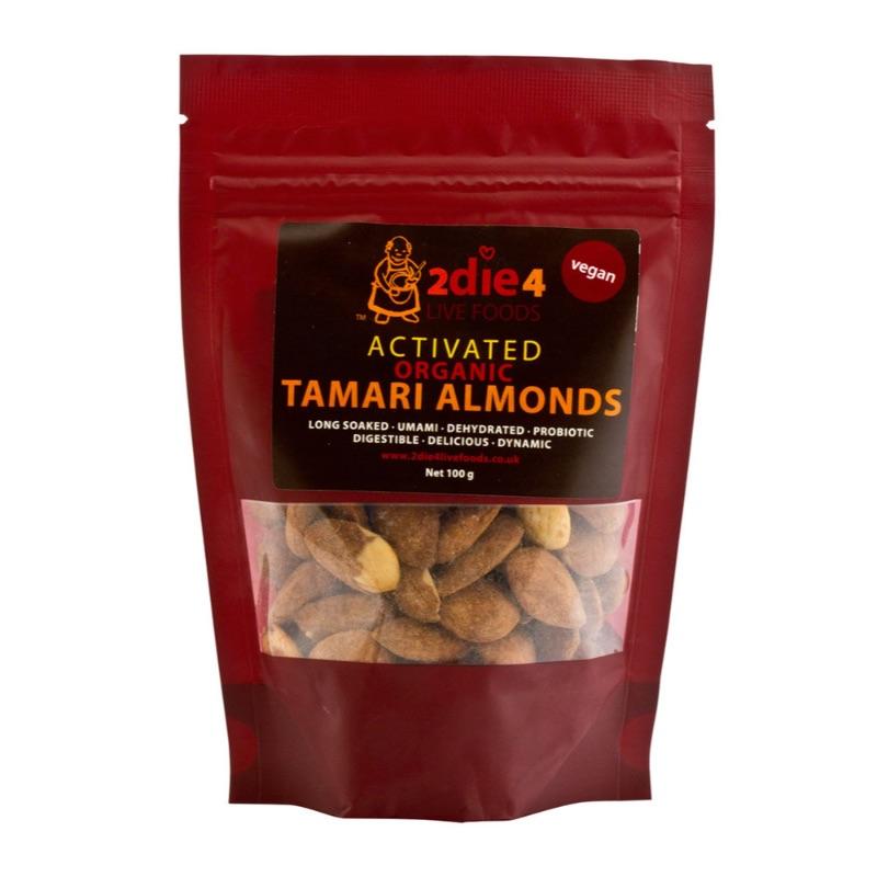 2die4 ORG Tamari Almonds 100g