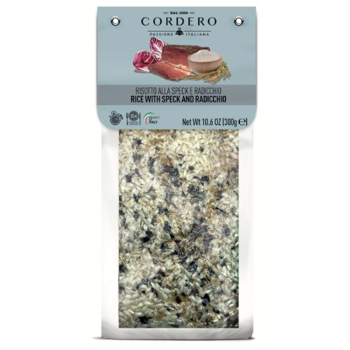 Cordero Risotto with Speck and Radicchio 300g