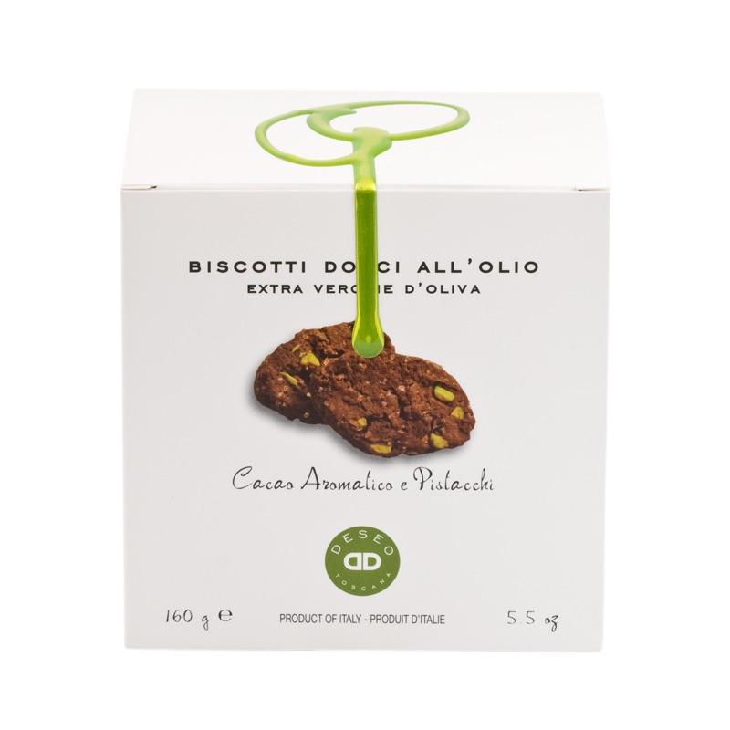 Deseo biscotti dolci cocoa-pistachio 160g