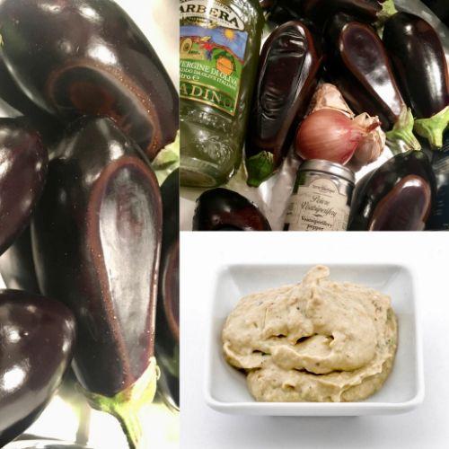 Smoky Transylvanian aubergine spread, house-made