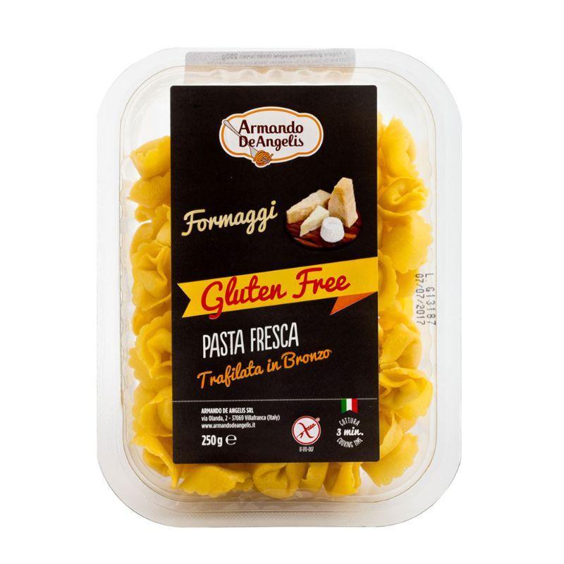 De Angelis* Gluten Free Tortelli Formaggi 250g