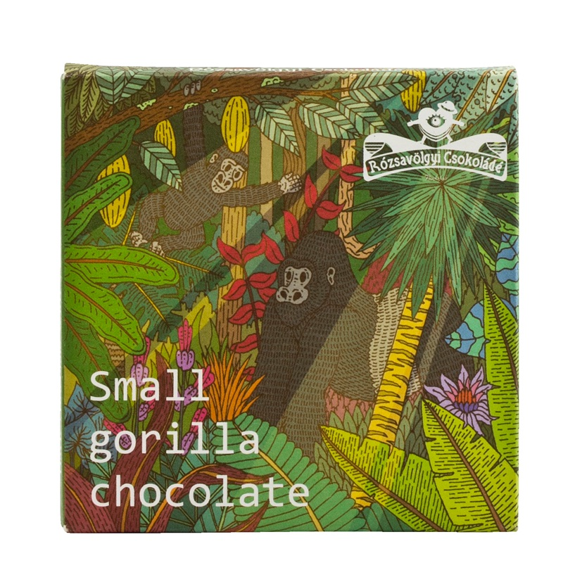 Rózsavölgyi Small Gorilla Chocolate 72% 30g