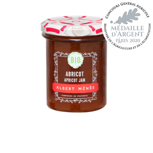 Menes Apricot Jam Organic 230g