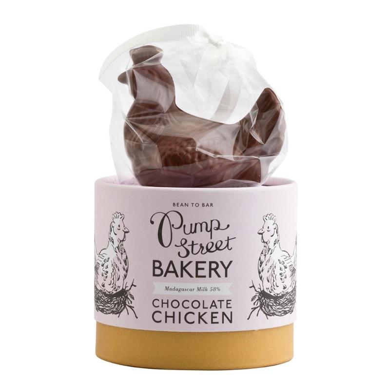 Pump Street Milk Chocolate Chicken 35g