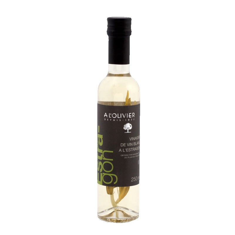 Olivier Vinegar Vin Blanc Estragon 250ml