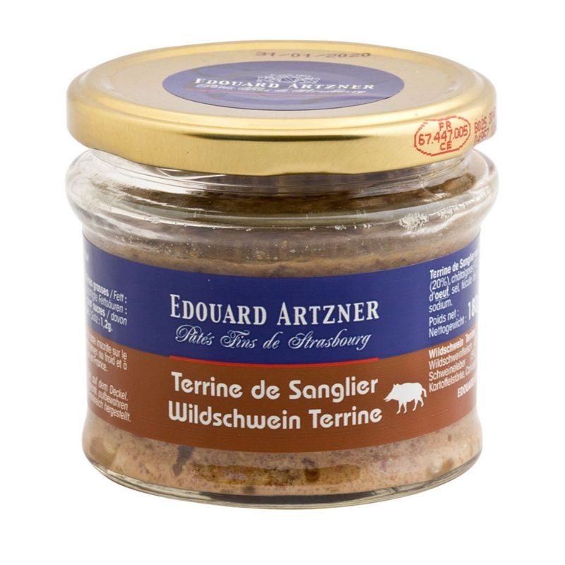 E.Artzner* Terrine de Sanglier aux Chataignes 180g