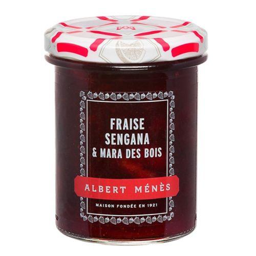 Albert Menes Sengana & Mara des Bois Strawberry Jam Extra 280 g