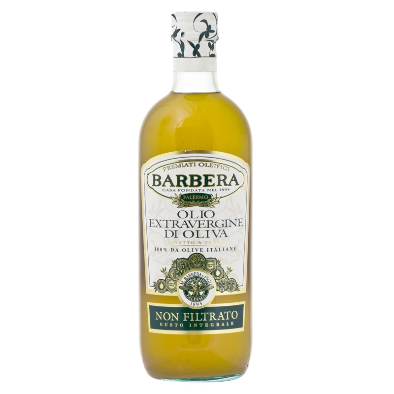 Barbera ulfiltered extra vergine olive oil 1l
