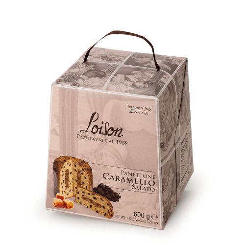 Loison Panettone Salted Caramel & Chocolate Astucci L945 600g