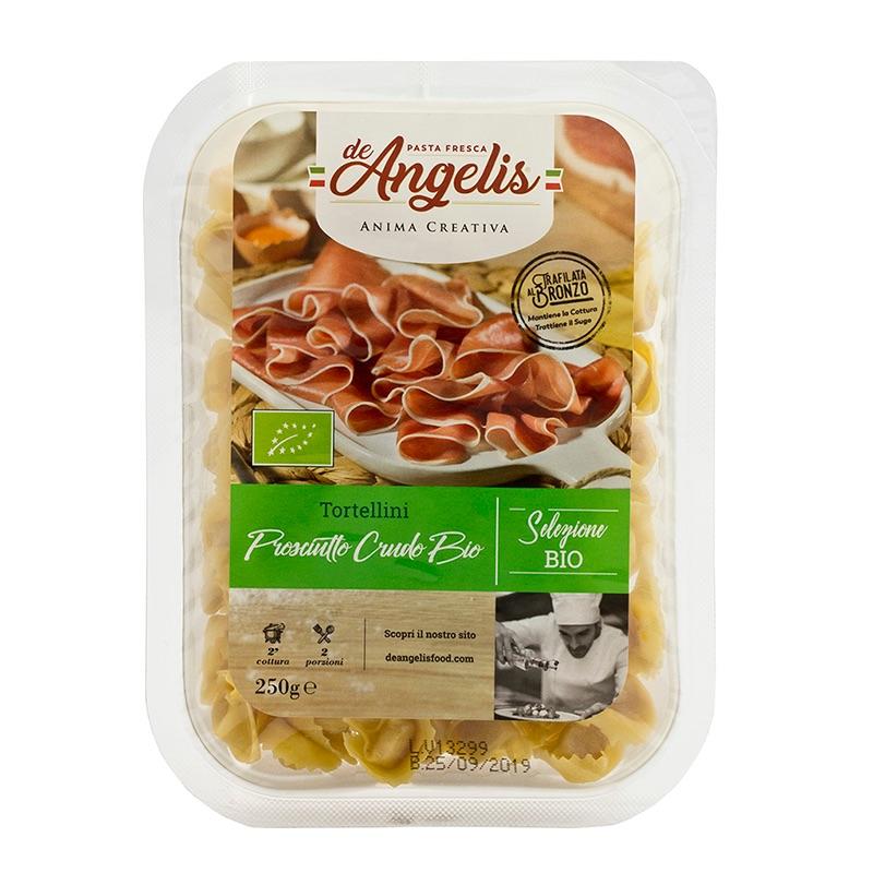 De Angelis* Organic Tortellini Prosciutto Crudo 250g
