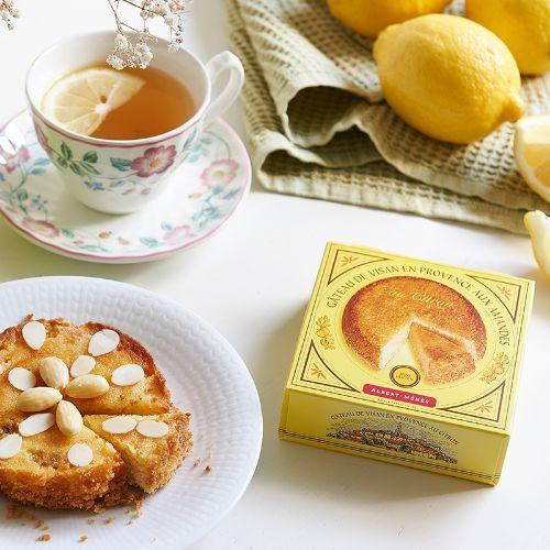 Albert Menes Almond Cake Visan en Provence with Lemon 120g
