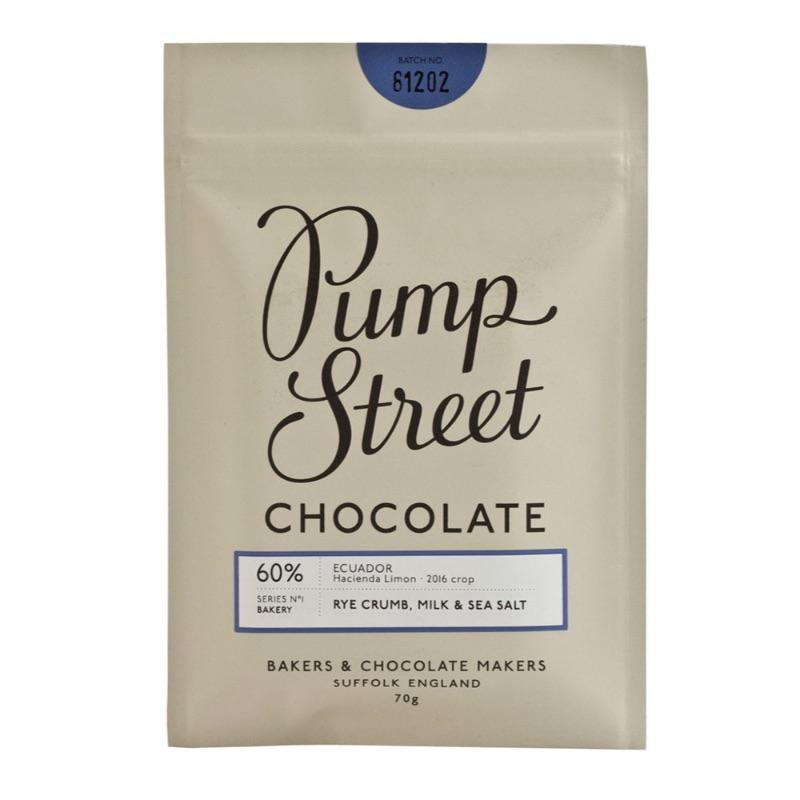 Pump Street Rye Crumb Milk & Sea Salt 60% 70g
